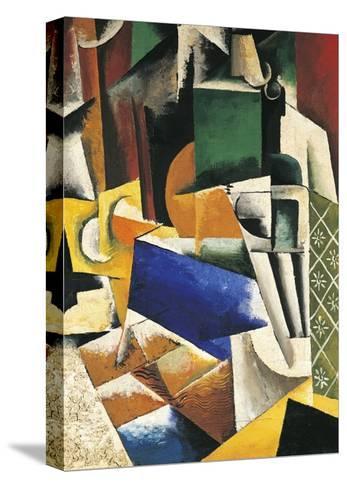 Still Life, 1915-1916-Lyubov Popova-Stretched Canvas Print
