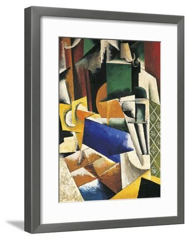 Still Life, 1915-1916-Lyubov Popova-Framed Art Print
