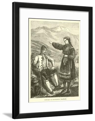 Costumes of Telemarken, Norway--Framed Art Print