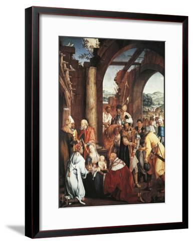 Adoration of Magi, 1511-Hans Von Kulmbach-Framed Art Print