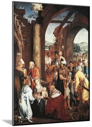 Adoration of Magi, 1511-Hans Von Kulmbach-Mounted Giclee Print