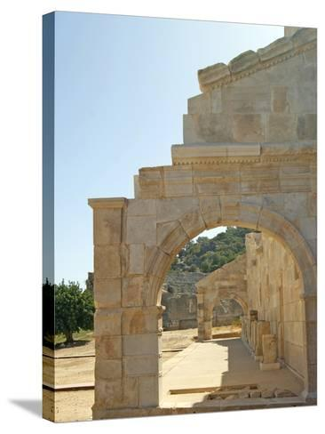 Outside the Bouleuterion, Patara, Turkey--Stretched Canvas Print