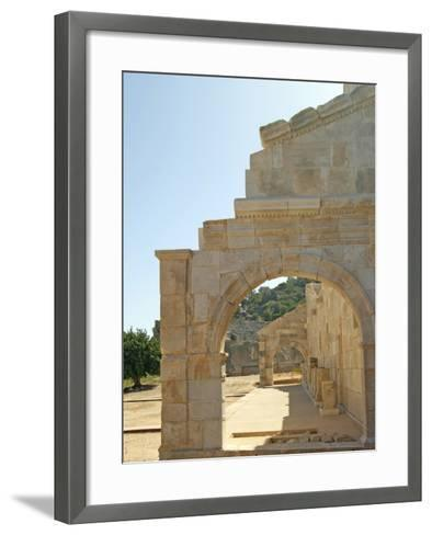 Outside the Bouleuterion, Patara, Turkey--Framed Art Print