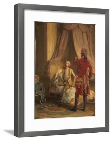 The Morning of the Duel-Talbot Hughes-Framed Art Print