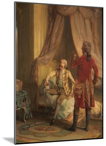 The Morning of the Duel-Talbot Hughes-Mounted Giclee Print