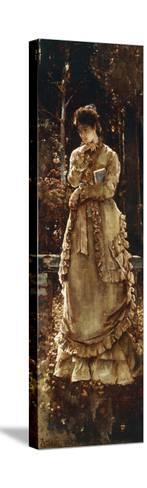 Autumn, 1874-Alfred Emile L?opold Stevens-Stretched Canvas Print