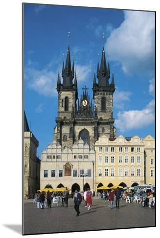 Czech Republic, Prague, Old Town--Mounted Photographic Print