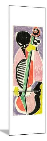 Playing the Cello-Anneliese Everts-Mounted Giclee Print