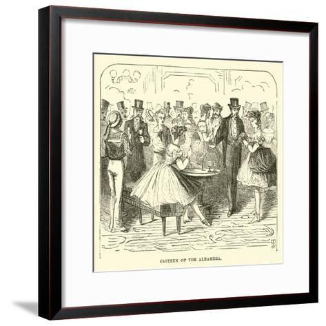 Canteen of the Alhambra--Framed Art Print