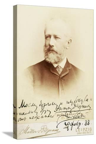 Petr Ilyich Tchaikovsky--Stretched Canvas Print