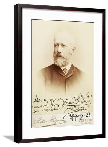 Petr Ilyich Tchaikovsky--Framed Art Print