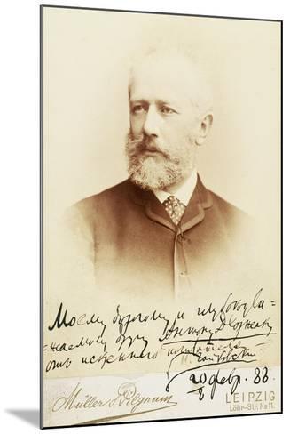 Petr Ilyich Tchaikovsky--Mounted Giclee Print