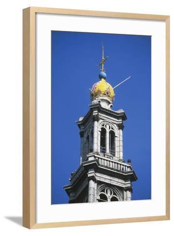 Dome of Bell Tower of Westerkerk--Framed Art Print