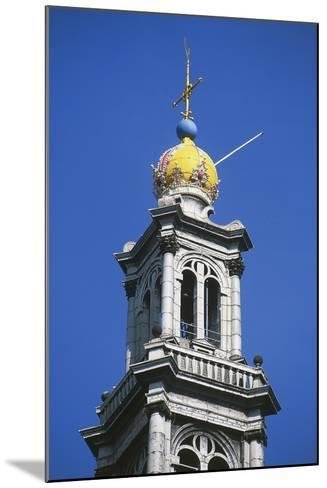 Dome of Bell Tower of Westerkerk--Mounted Photographic Print