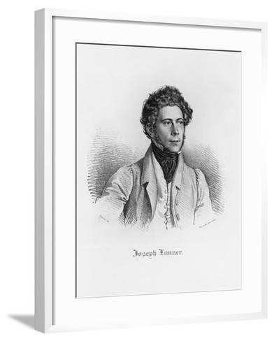 Portrait of Josef Franz Karl Lanner--Framed Art Print