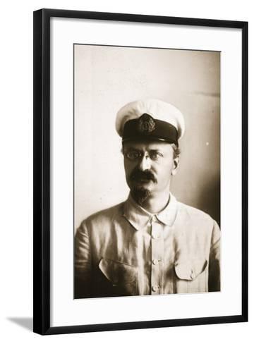 Leon Trotsky--Framed Art Print