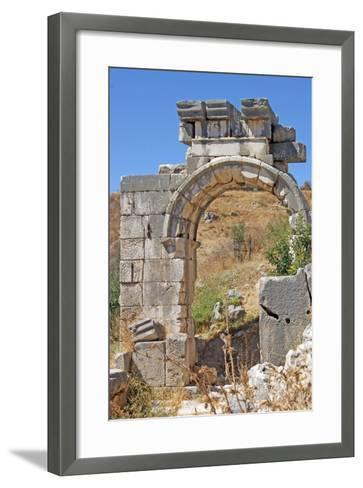 Hellenistic Gate, Xanthos, Turkey--Framed Art Print