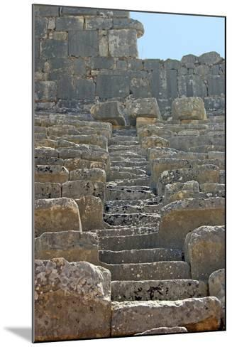 Steps of the Xanthos Theatre, Xanthos, Turkey--Mounted Photographic Print