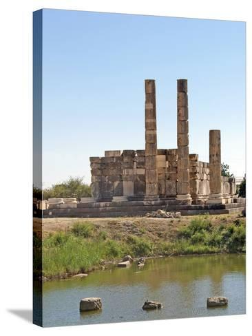 The Temple of Leto, Letoon, Turkey--Stretched Canvas Print