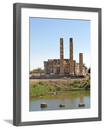 The Temple of Leto, Letoon, Turkey--Framed Art Print