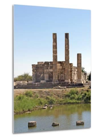 The Temple of Leto, Letoon, Turkey--Metal Print
