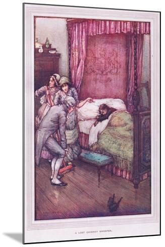 The Lost Chimney Sweeper-Sybil Tawse-Mounted Giclee Print