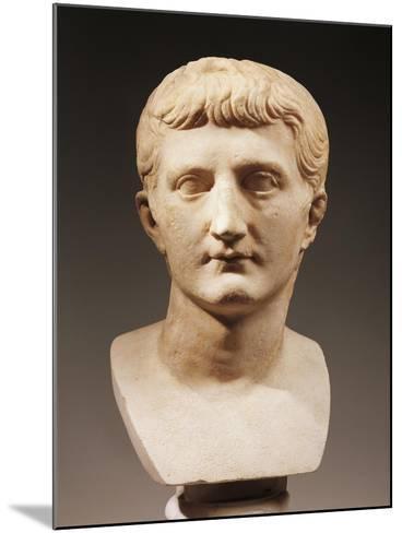 Head of Emperor Caligula--Mounted Giclee Print