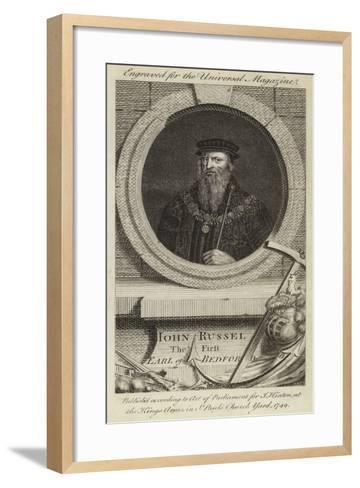 John Russel, the First Earl of Bedford--Framed Art Print
