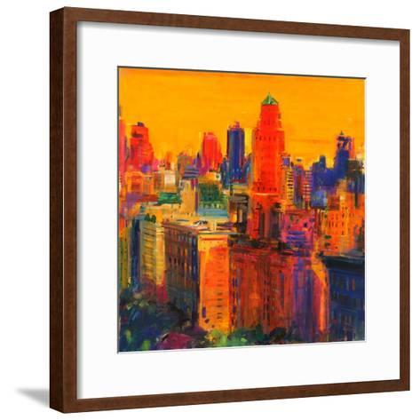 Fifth and Madison-Peter Graham-Framed Art Print
