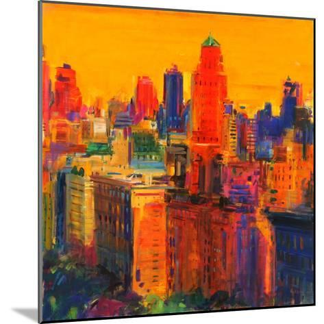 Fifth and Madison-Peter Graham-Mounted Giclee Print