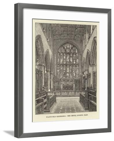 Wakefield Cathedral, the Choir, Looking East--Framed Art Print