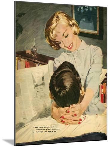 Illustration from Magazine, 1959--Mounted Giclee Print