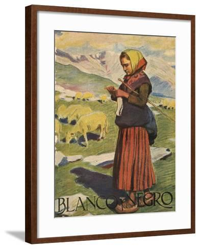 Front Cover of 'Blanco Y Negro', 1922--Framed Art Print