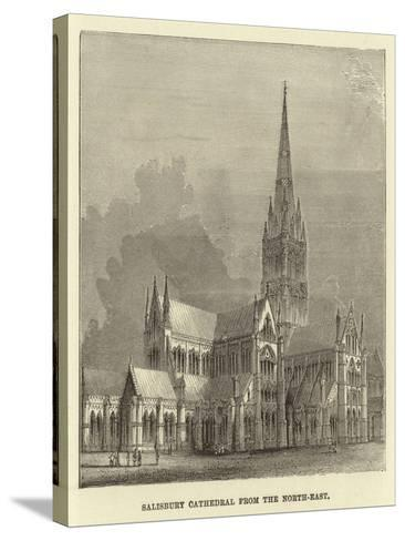 Salisbury Cathedral from the North-East--Stretched Canvas Print