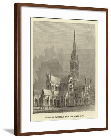 Salisbury Cathedral from the North-East--Framed Art Print