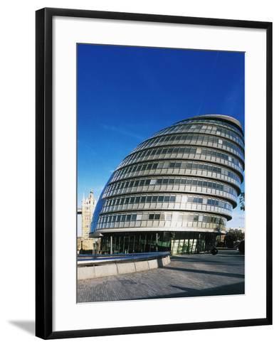 London City Hall--Framed Art Print