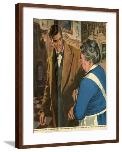 Illustration from 'John Bull', 1955--Framed Art Print