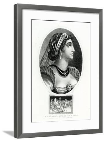 Cleopatra, Queen of Egypt--Framed Art Print