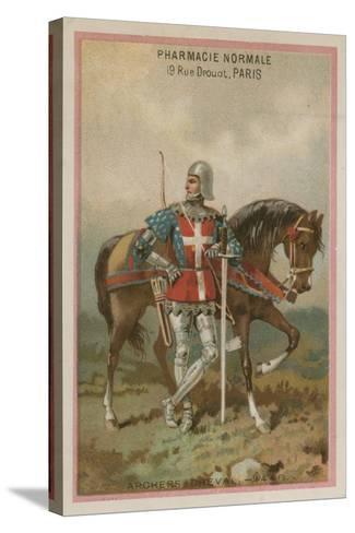 Archers on Horseback--Stretched Canvas Print
