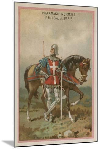Archers on Horseback--Mounted Giclee Print