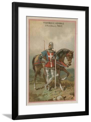 Archers on Horseback--Framed Art Print