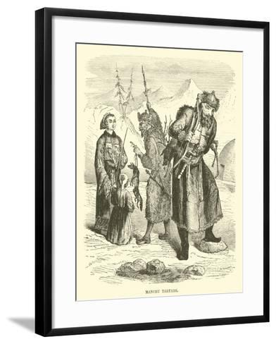 Manchu Tartars--Framed Art Print