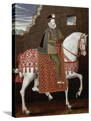 Portrait of Henry III of France--Stretched Canvas Print