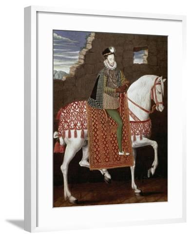 Portrait of Henry III of France--Framed Art Print