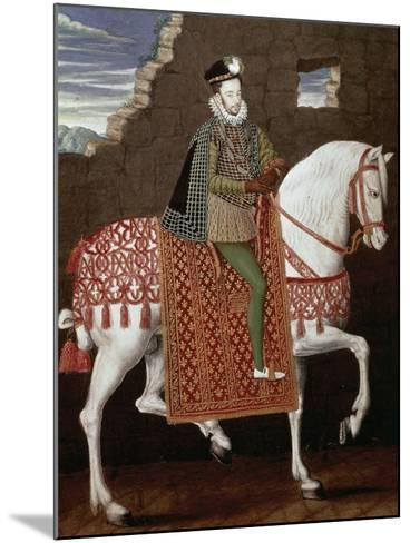 Portrait of Henry III of France--Mounted Giclee Print