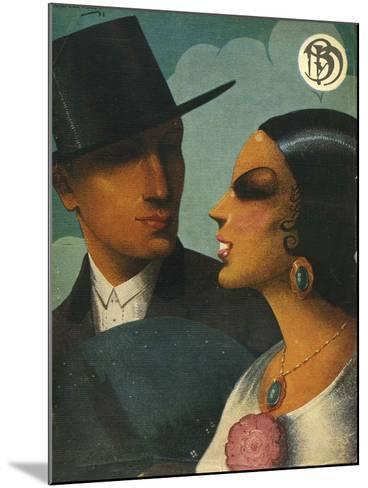Illlustration from 'Blanco Y Negro', 1920s--Mounted Giclee Print