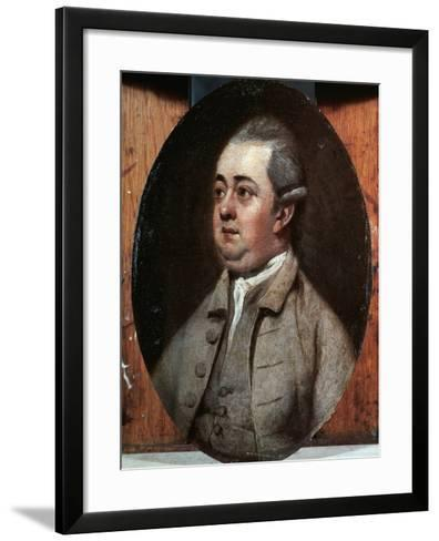 Edward Gibbon, 1773-Henry Walton-Framed Art Print