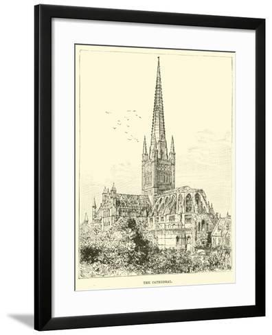 The Cathedral--Framed Art Print