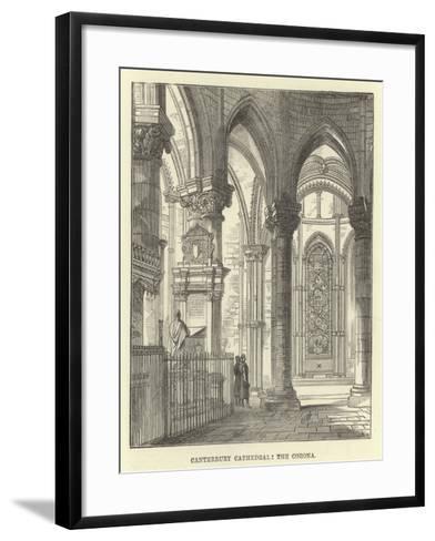 Canterbury Cathedral, the Corona--Framed Art Print