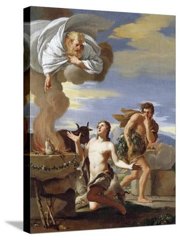 The Sacrifice of Abel, 1634-Charles Mellin-Stretched Canvas Print